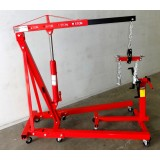 Engine Hoist 2Ton Engine Lifter 2000lbs Inc Engine Stand & Engine Leveller  JL-E03012-SetB